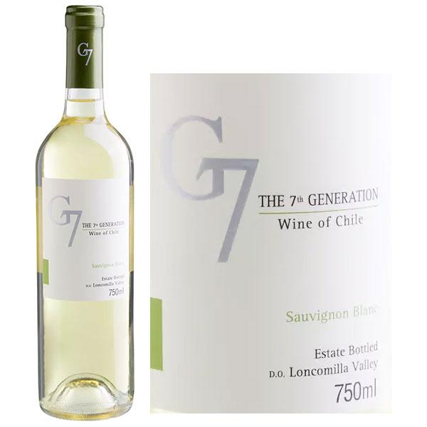 Rượu vang G7 Generation Sauvignon Blanc
