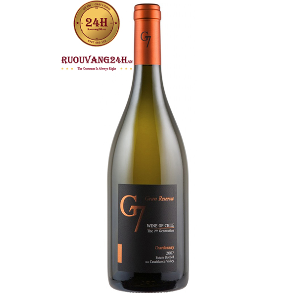 Rượu vang G7 Gran Reserva Chardonnay