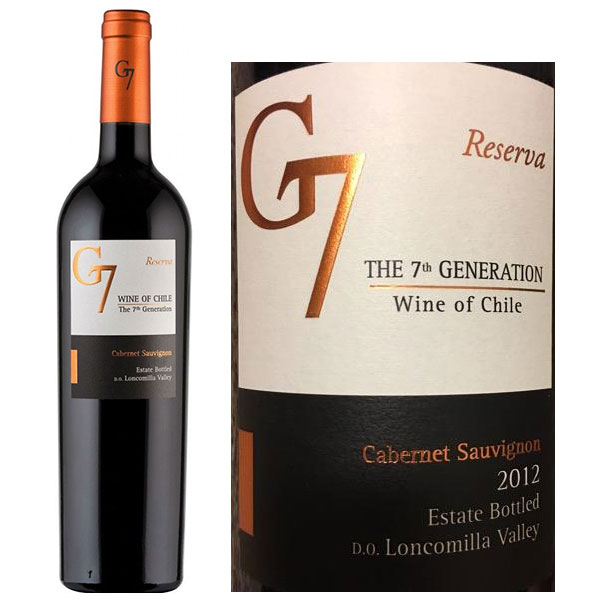 Rượu vang G7 Reserva Cabernet Sauvignon