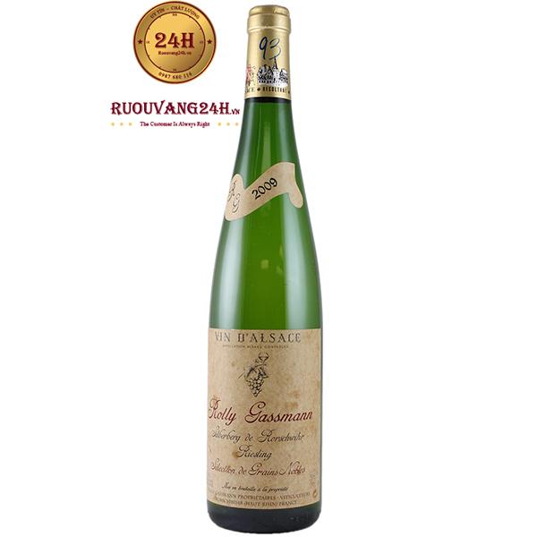 Rượu vang Rolly Gassmann De Rorschwihr Riesling