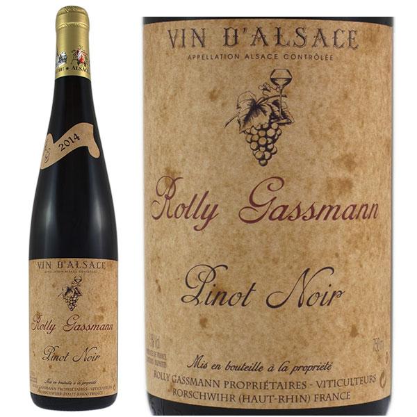 Rượu vang Rolly Gassmann Pinot Noir De Rorschwihr