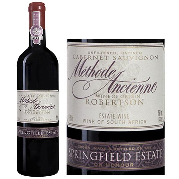 Rượu vang Springfield Méthode Ancienne Cabernet Sauvignon