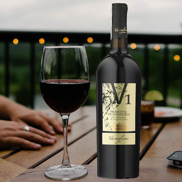 Rượu vang V1 Primitivo Di Manduria