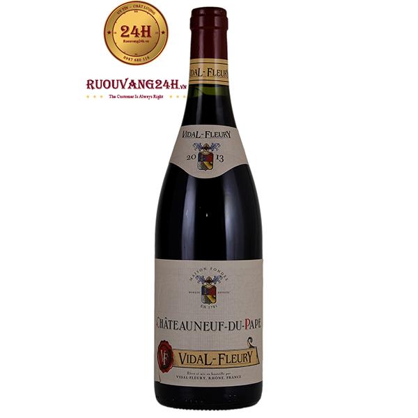 Rượu vang Vidal Fleury Chateauneuf Du Pape