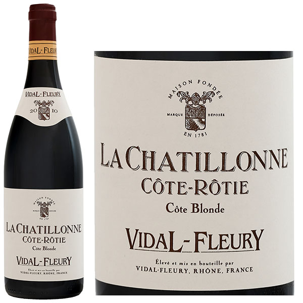 Rượu vang Vidal Fleury La Chatillonne Cote Rotie