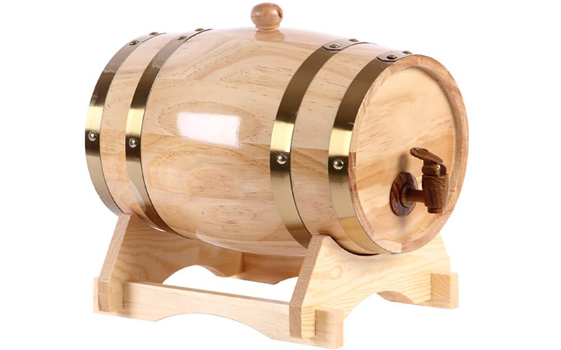 Cách ngâm rượu vang bằng thùng gỗ sồi