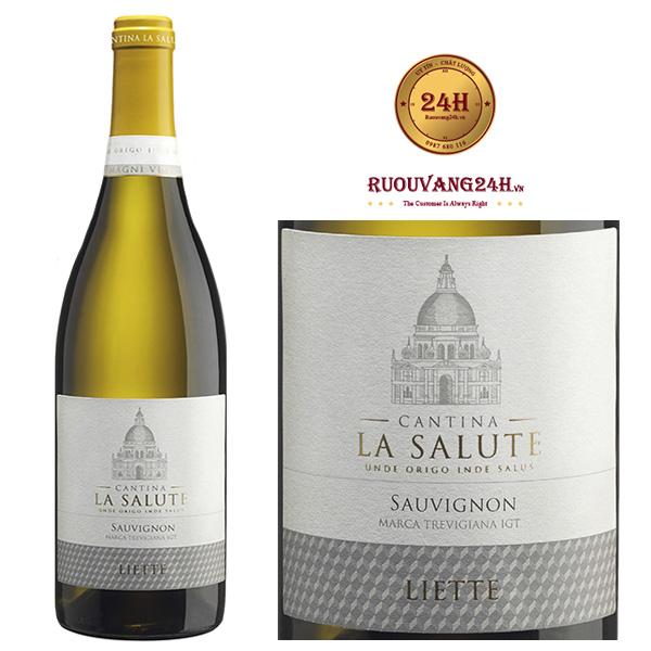 Rượu Vang Ý Cantina La Salute Sauvignon