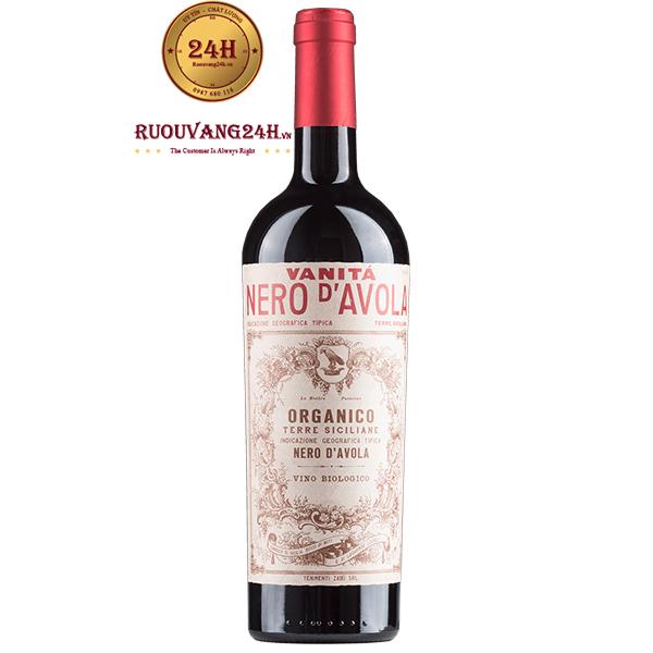 Rượu Vang Vanita Nero D'avola