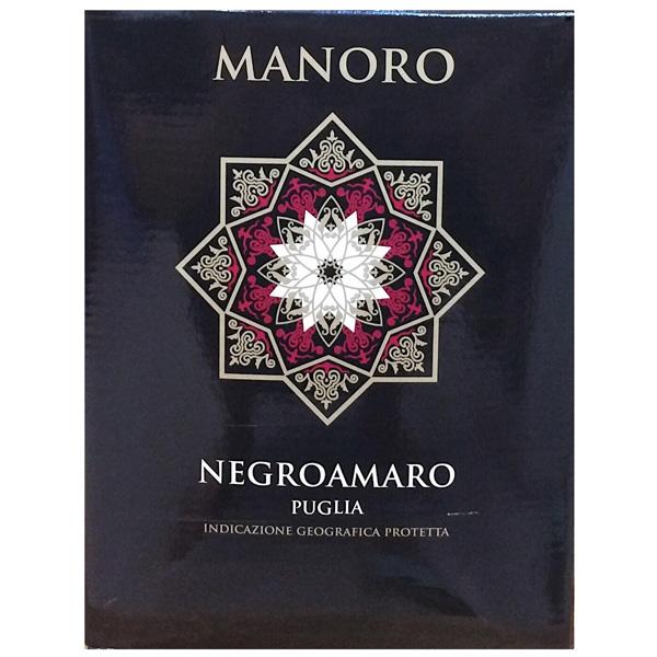 Rượu Vang Bịch Manoro Negroamaro Puglia