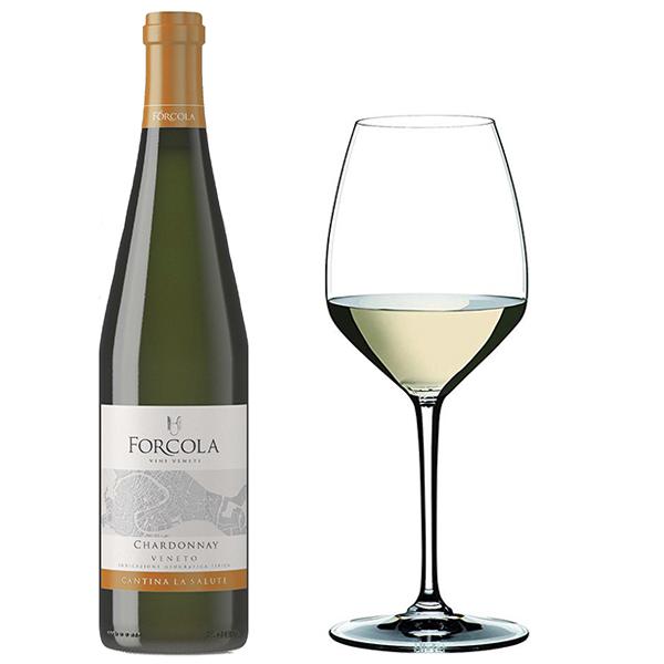 Rượu vang Ý Forcola Chardonnay