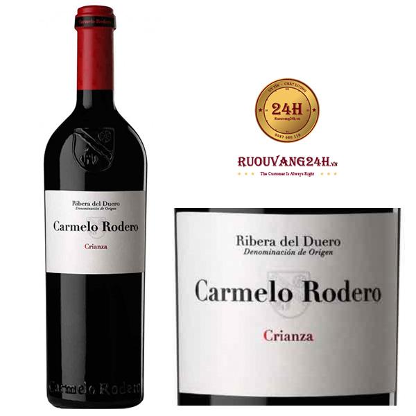 Rượu vang Carmelo Rodero Crianza