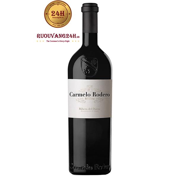 Rượu vang Carmelo Rodero Reserva