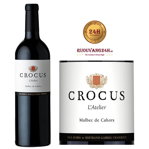 Rượu vang Crocus L'Atelier