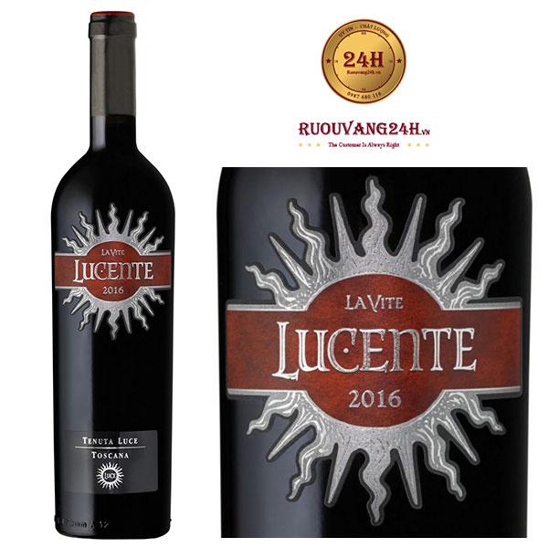 Rượu vang Lucente La Vite
