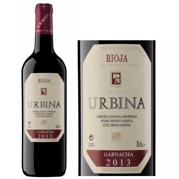 Rượu vang Urbina của Tây Ban Nha