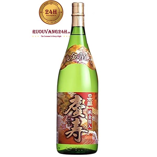 Rượu Sake Vảy Vàng Gold Keiju Kimpaku 1.8Lít