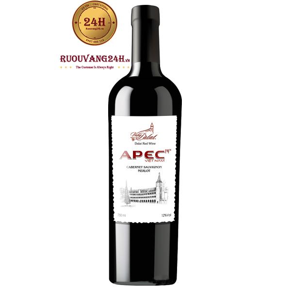 Rượu Vang Đà Lạt Apec2017 – 375 ML