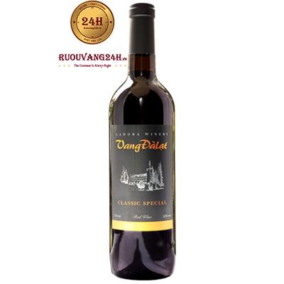 Rượu Vang Đà Lạt Classic Special