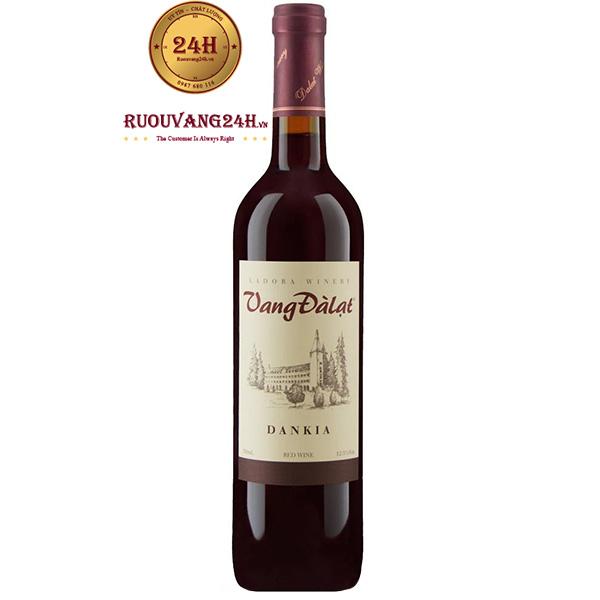 Rượu Vang Đà Lạt Dankia Red Wine