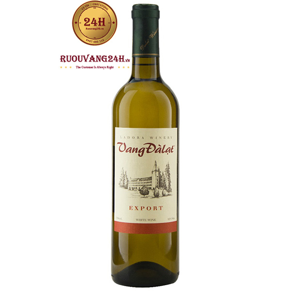 Rượu Vang Đà Lạt Export White Wine