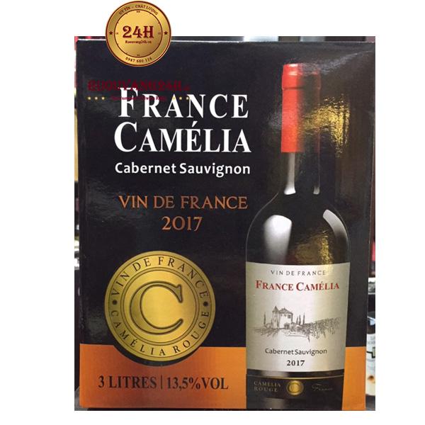 Rượu Vang Bịch France Camélia