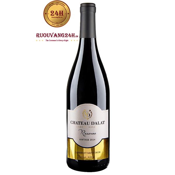 Rượu Vang Chateau Dalat Reserve Cabernet Sauvignon