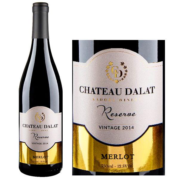 Rượu Vang Chateau Dalat Reserve Merlot