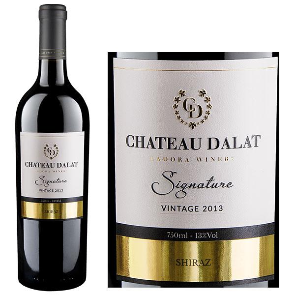 Rượu Vang Chateau Dalat Signature Cabernet Sauvignon
