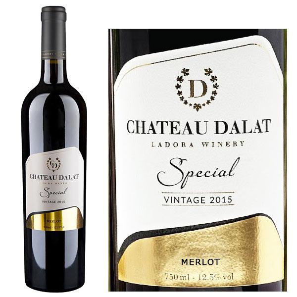 Rượu Vang Chateau Dalat Special Merlot