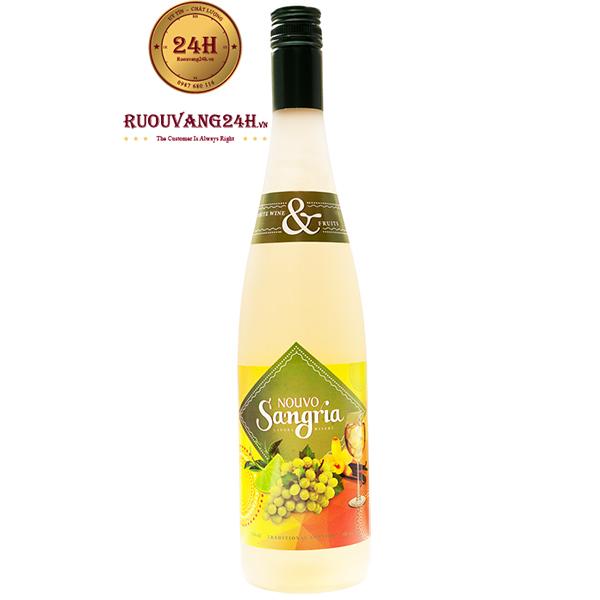 Rượu Vang Nouvo Sangria White