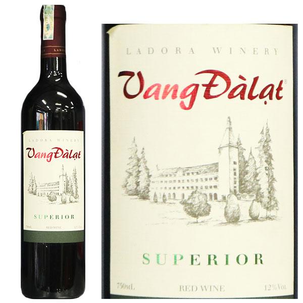 Vang Đà Lạt Superior Red Wine