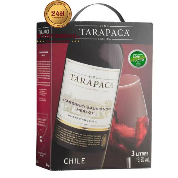 Rượu Vang Bịch Tarapaca Cabernet Sauvignon 3L
