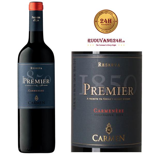 Rượu Vang Carmen Premier Carmenere