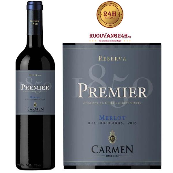 Rượu Vang Carmen Premier Reserva Merlot