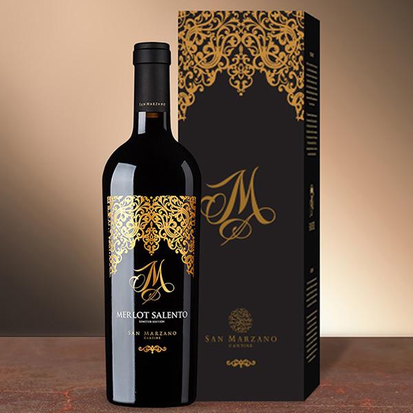 Vang M Limited Merlot Hộp Quà - Rượu Vang 24H