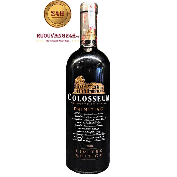 Rượu Vang Colosseum Primitivo 18 Độ