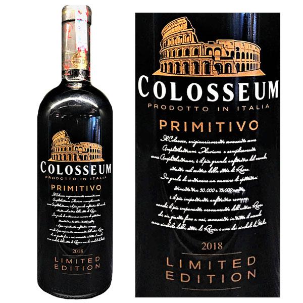 Rượu Vang Colosseum Primitivo