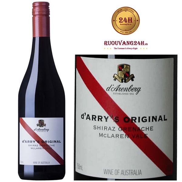 Rượu Vang D'Arry's Original Shiraz Grenache Mclaren Vale