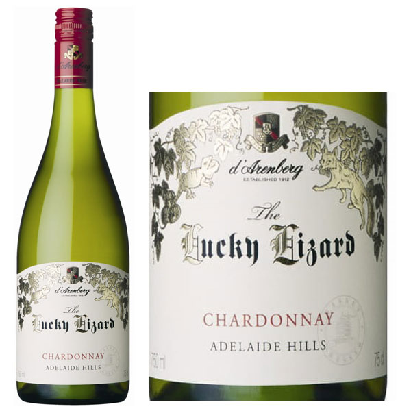 Rượu Vang D'Arenberg The Lucky Lizard Chardonnay