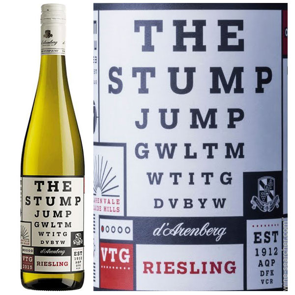 Rượu Vang D'Arenberg The Stump Jump Riesling