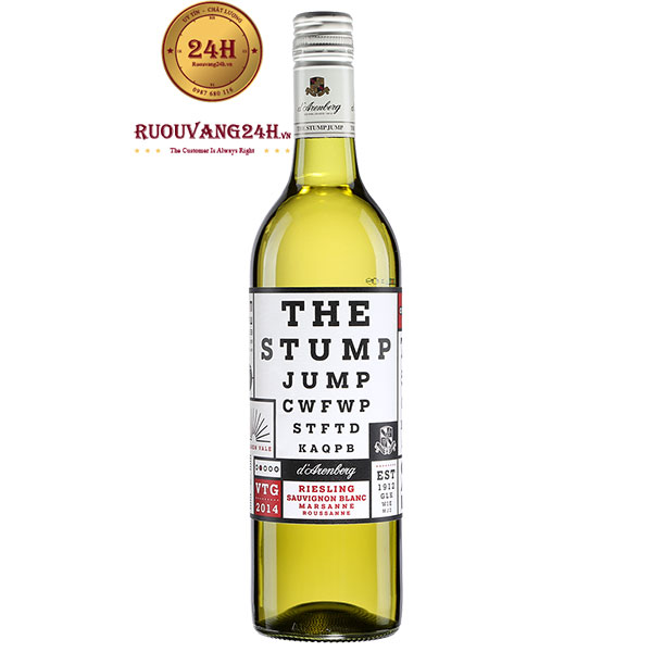 Rượu Vang D'Arenberg The Stump Jump Sauvignon Blanc