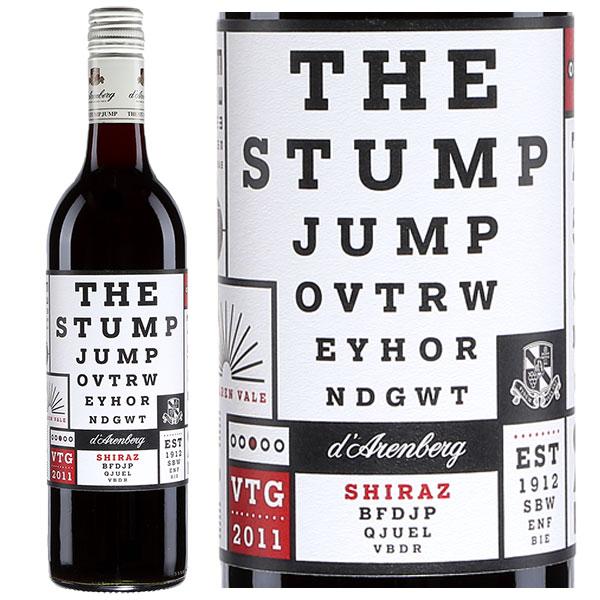 Rượu Vang D'Arenberg The Stump Jump Shiraz