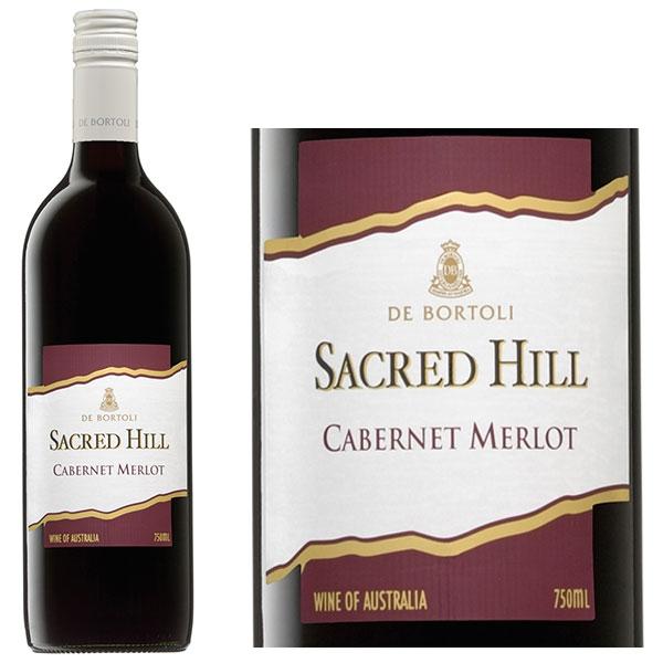 Rượu Vang De Bortoli Sacred Hill Cabernet - Merlot