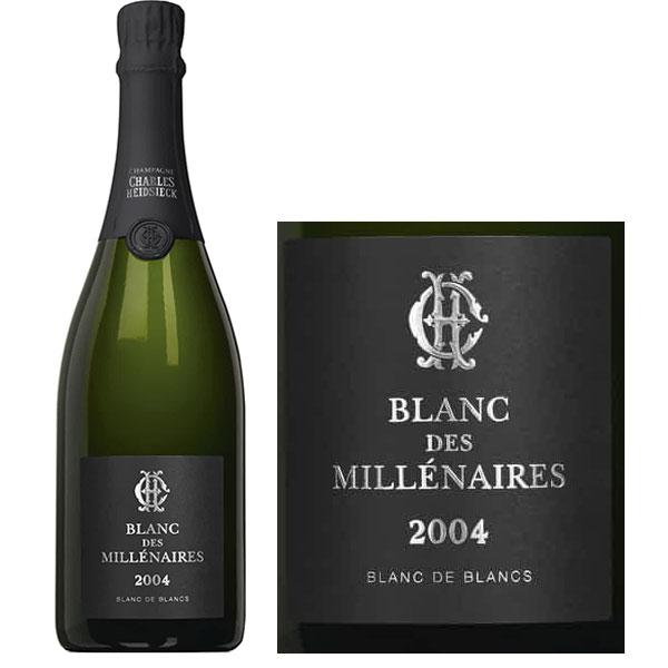 Rượu Champagne Charles Heidsieck Blanc Des Millénaires 2004
