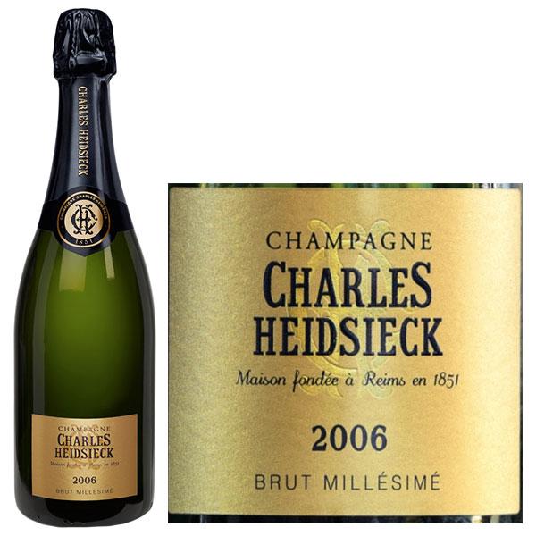 Rượu Champagne Charles Heidsieck Brut Millésimé 2006