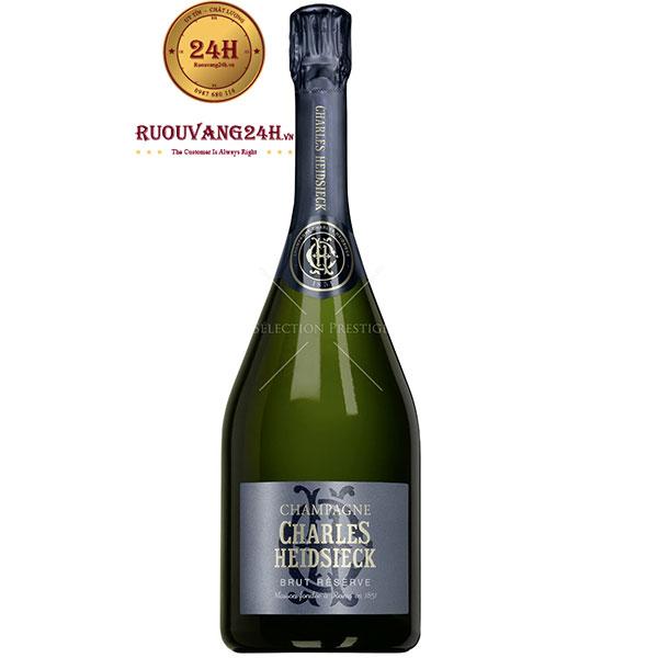 Rượu Champagne Charles Heidsieck Brut Reserve