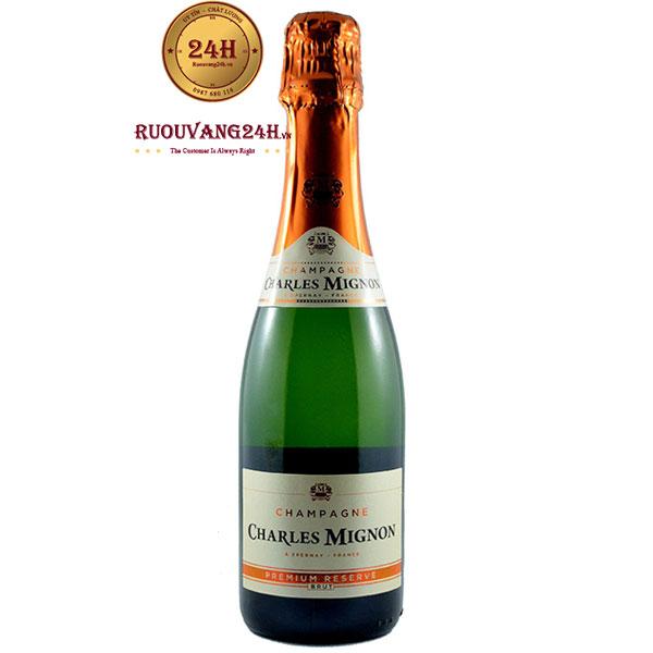 Rượu Champagne Charles Mignon Brut Premium Reserve