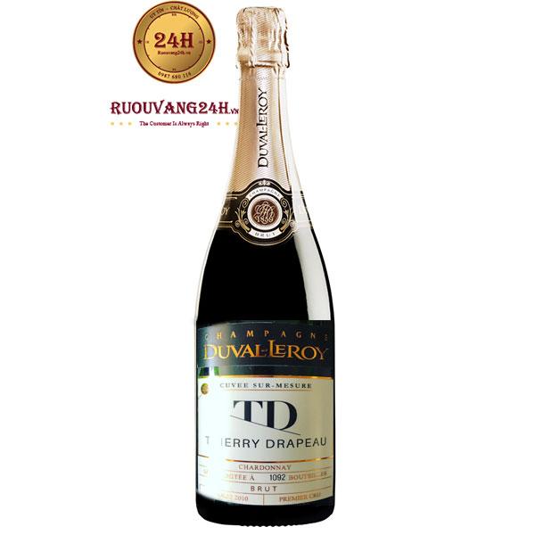 Rượu Champagne Duval Leroy Thierry Drapeau