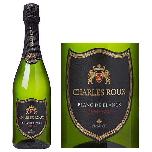 Rượu Sâm Banh Charles Roux Blanc De Blancs