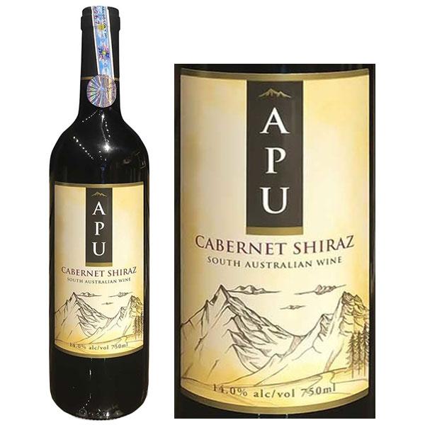 Rượu Vang ÚC Apu Cabernet Syrah